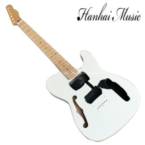 Hanhai Music / Tele Style Electric Guitar Kit with Bird Eye Maple Neck pictures & photos