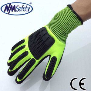 Nmsafety Impact Resistant Automotive Mechanic Work Glove pictures & photos