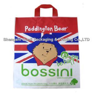 Plastic Bag with Soft Loop Handle (SSQL-PL-A007)