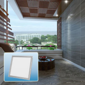 High Quality Multicolor IP44 Waterproof Flat Square LED Panel Light pictures & photos