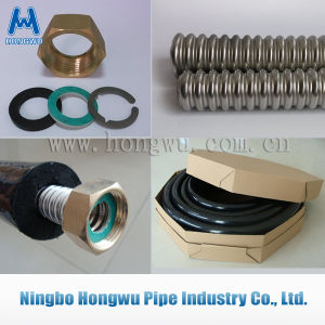Water Heater Parts Dn16 Dn20 Connection Pipe SUS304 Solar Hose pictures & photos