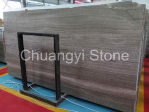 Chinese Grey Wood Marble for Wall and Flooring Tile pictures & photos