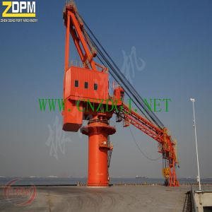 Fixed Hydraulic Marine/Port/Dock/Ship Crane for Sale China Supplier