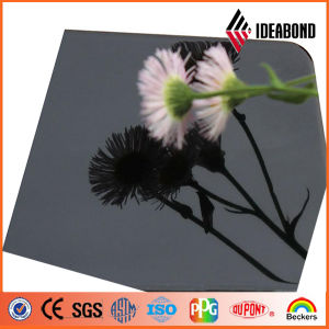 Office Interior Decoration Black Mirror Aluminum Plastic Composite Panel pictures & photos