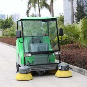 Electric All Closed Street Cleaning Sweeper / Road Sweeper (DQS18A) pictures & photos