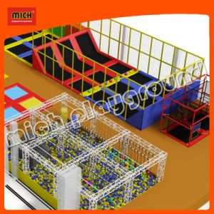 Mich Ninjia Course Indoor Trampoline Park pictures & photos