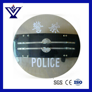 Round Anti-Riot Shield with Electric Shock (SYSG-100) pictures & photos