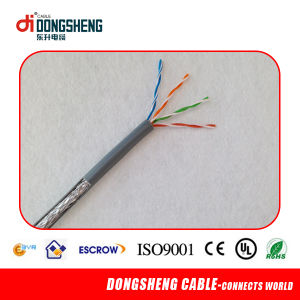 Certificates Factory UTP Cat5e Cable Waterproof LAN Cable pictures & photos