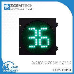 300mm 12 Inch 2 Digital Red Green Countdown LED Traffic Light pictures & photos