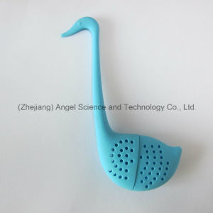 fashion Little Swan Silicone Tea Infuser Tea Bag St09 pictures & photos