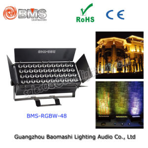 48PCS 10W RGBW 4 in 1 LED Spotlight pictures & photos
