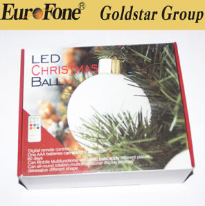 Christmas Decoration, Electronics Battery Christmas Ball Light pictures & photos