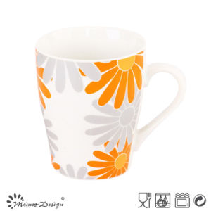 Sunshine Flower Design Ceramic Mug pictures & photos