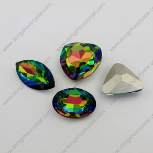 Wholesale Different Shapes Crystal Jewelry Stone in Vitral Medium Color pictures & photos