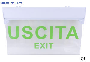 Emergency Exit Sign, Emergency Light, LED Emergency Exit Sign pictures & photos