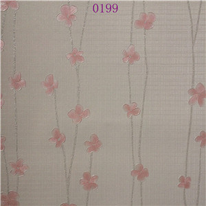 America TV Setting Stype Beautiful Design Pink PVC Wallpaper pictures & photos