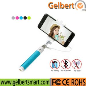 Classic Extendable Wired Handheld Selfie Stick (GBT-H003) pictures & photos