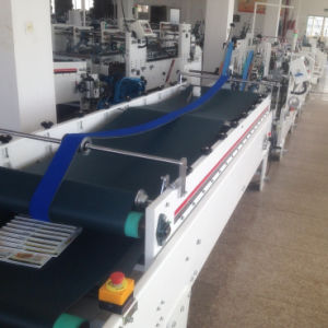 Shh-E Model Automatic Corrugated Box Folder Gluer Machine with Bottom Lock pictures & photos
