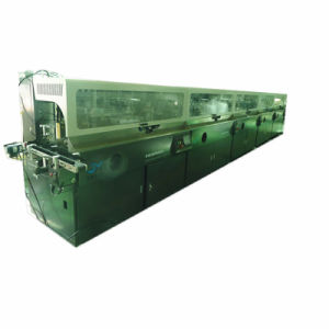 Automatic Five Color Curved Surface Screen Printing Machine pictures & photos
