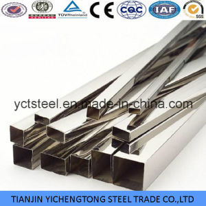 Decoration Bright Square & Rectangle 310S Stainless Steel Pipe pictures & photos