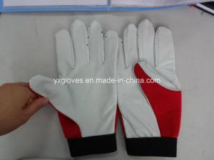 Labor Glove-Sheep Skin Glove-Goat Skin Glove-Safety Glove-Leather Glove-Working Leather Glove pictures & photos