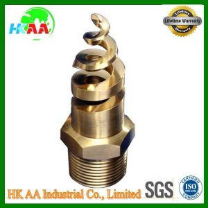 High Precision CNC Aluminum/Stainless Steel/Brass Spiral Nozzle, Spiral Spray Nozzle pictures & photos