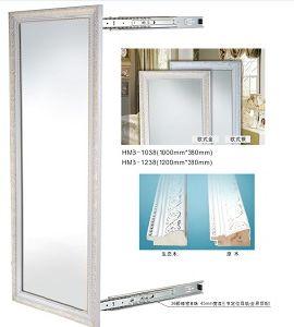 Furniture Hardware Silver Aluminum Decorative &Dressing Mirror pictures & photos