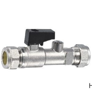 (HE-1133) Brass Ball Valve Pn30 with Plastic Handle for Water, Oil pictures & photos