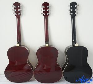 Aiersi New Arrival Musical Instrument Colorful Acoustic Guitar Sg025 pictures & photos