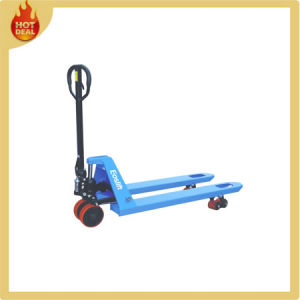 Low Price Manual Hand Pallet Jack Truck with Scale pictures & photos