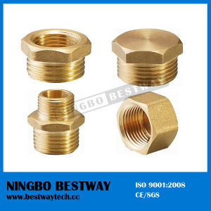 Male Thread Bronze Pipe Fitting Direct Factory (BW-660) pictures & photos