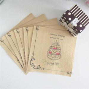 Wholesale Birthday Party Decorations Paper Serviette pictures & photos