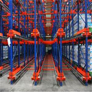 Popular Warehouse Storage Radio Shuttle Rack System/Shuttle Pallet Racking System pictures & photos