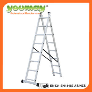 En131 Aluminum Combination Ladder AC0208A/Extension Ladder