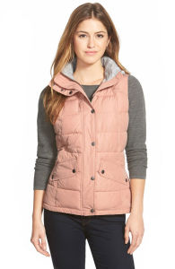 Women Warm Hoody Quilted Padding Vest pictures & photos