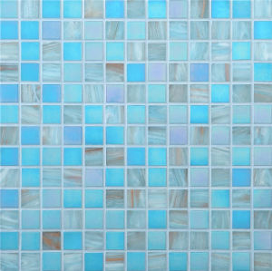 20*20mm Golden Line Mosaic Wall Tile, Glass Mosaic pictures & photos
