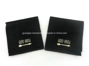 Custom Black Velvet Jewellery Pouch pictures & photos