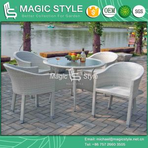 Patio Wicker Dining Set Rattan Outdoor Dining Set Garden Dining Chair (Magic Style) pictures & photos