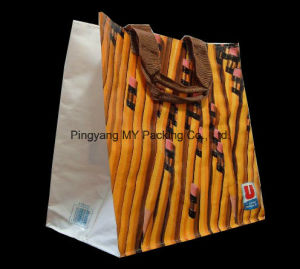 Custom Logo Eco Friendly PP Webbing Promotional PP Woven Bag pictures & photos