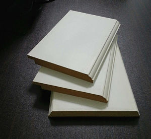 Construction Wall Ceiling Pine Wood White Primed Shoe Moulding pictures & photos