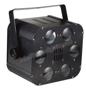 LED Six Eyes Light (3*3W RGB LED Disco/Nightclub Light) pictures & photos