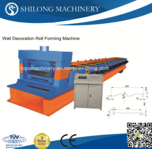 Color Steel Wall Decoration Tile Roll Forming Machine pictures & photos