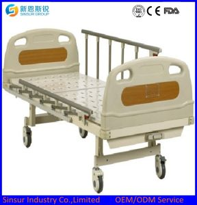 Hospital Use Single Function Manual Medical Beds pictures & photos