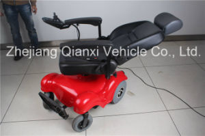 Power Wheelchair W/Semi-Recline Captain Seat W/Adjusted Pillow (XFG-108FL) pictures & photos