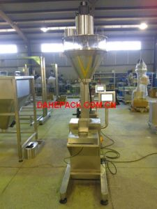 Semi Automatic Powder Dosing Machine, Powder Filling Machine for Bags and Bottles by Weight pictures & photos