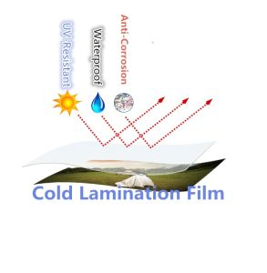 PVC Cold Lamination Film /Window Film for Exterior Decoration & Protection pictures & photos