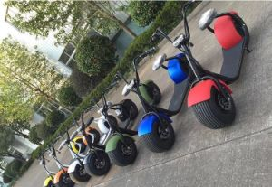 2016 Fashionable Citycoco 2 Wheel Electric Scooter, Adult Electric Motorcycle Scooter pictures & photos