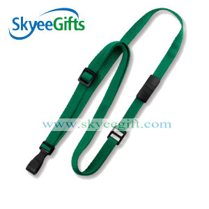 Clothing Green Lanyard with Holder Detachable Keychain pictures & photos