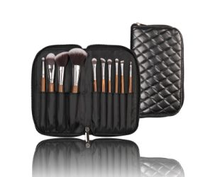 Synthetic Hair Cosmetic Make up Brush with Special Wooden Handle pictures & photos