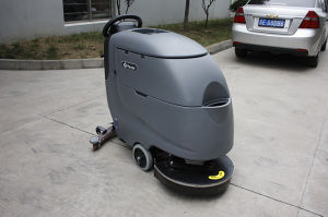 Big Mouth Huge Tank Clean-in-Place (CIP) Floor Scrubber for Sale003 pictures & photos